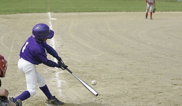 who bats first in baseball