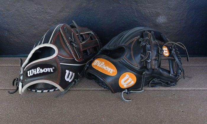 where are wilson baseball gloves made