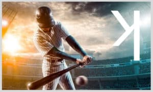 what does a backwards k mean in baseball