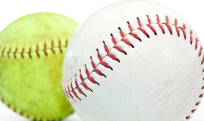 which is harder softball or baseball